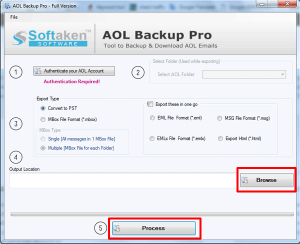 provide output directory to save